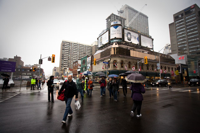 Photo Credit: http://torontoist.com/2009/10/walk_sign_is_on_for_all_crossings_at_yonge_and_bloor/